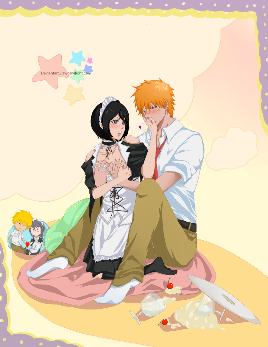 ichigo and rukia relationship fanfiction twilight