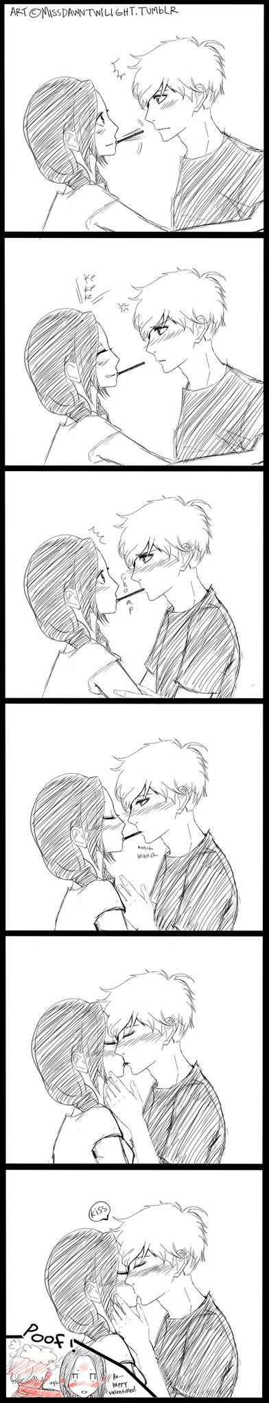 Kiss by dawntwilight