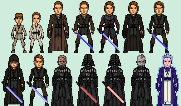 Micro Anakin Skywalker Darth Vader Dark Vador By