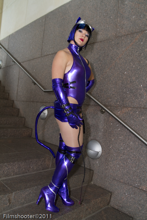 Catwoman Pose Off by HollyGloha