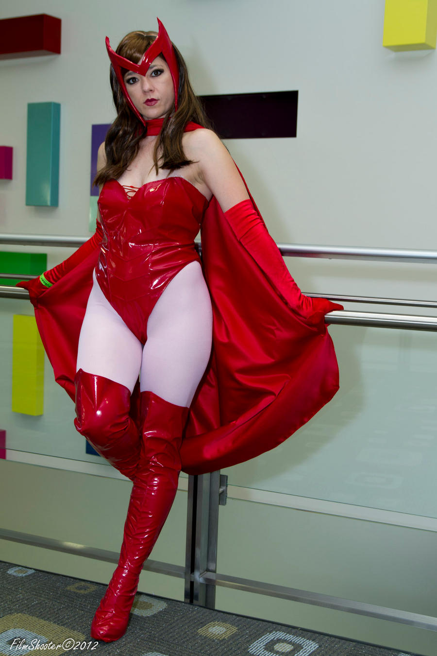 Scarlet Witch Contemplates by HollyGloha