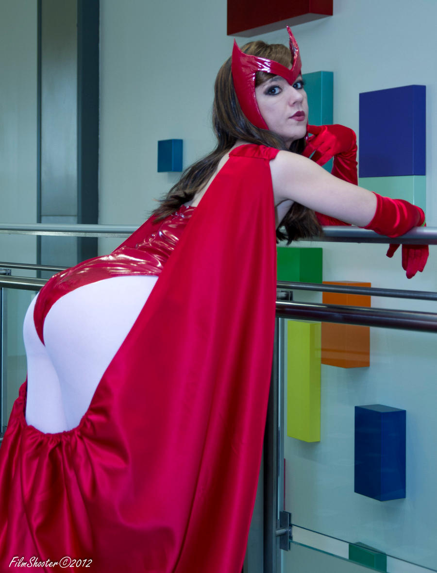 Scarlet Witch Back View by HollyGloha