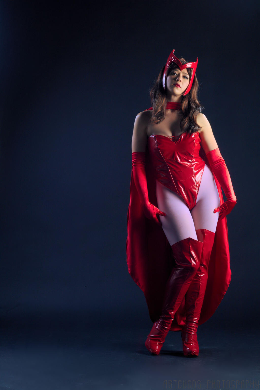 Scarlet Witch Attitude by HollyGloha
