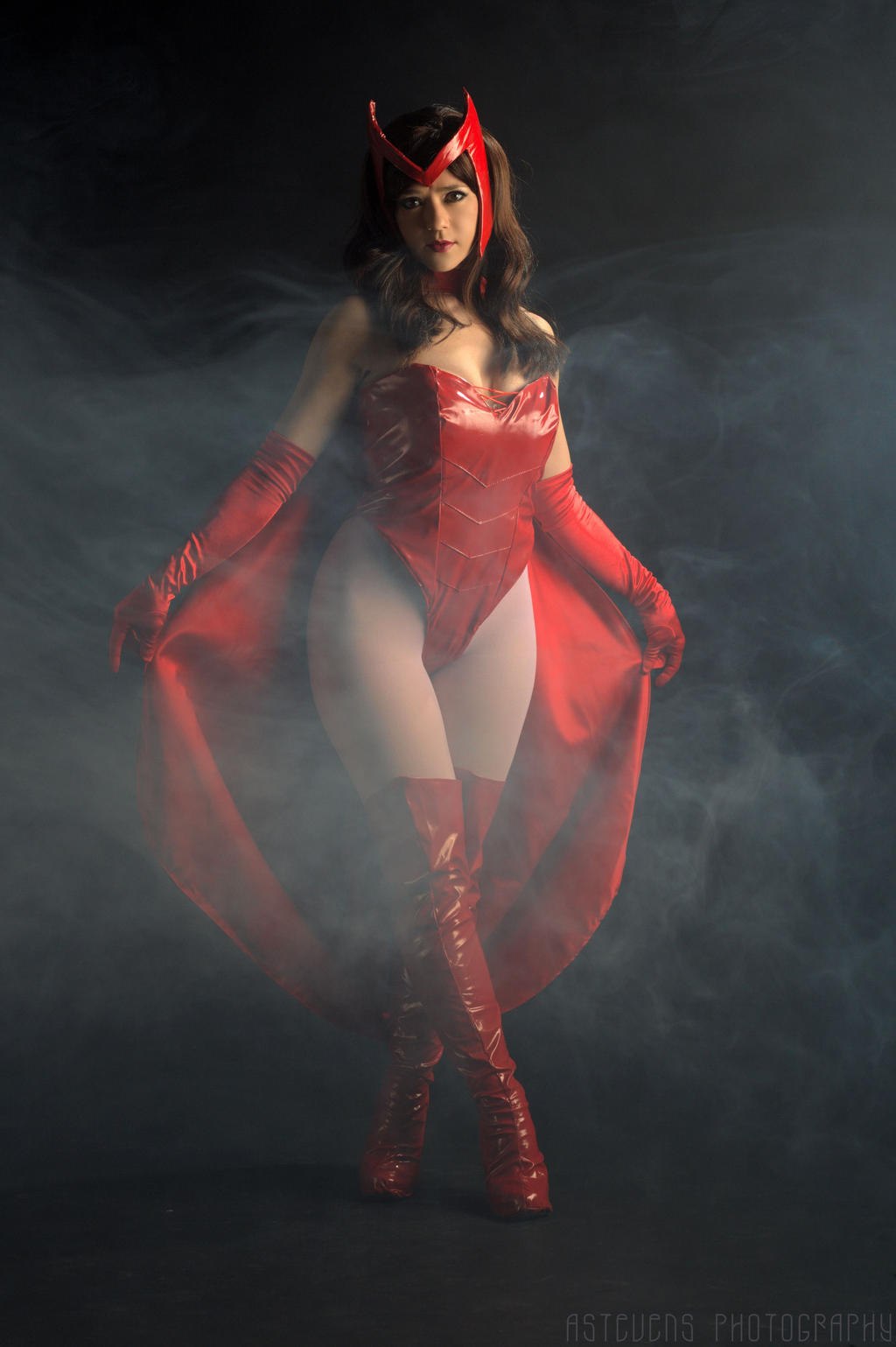 Scarlet Witch Entrance by HollyGloha