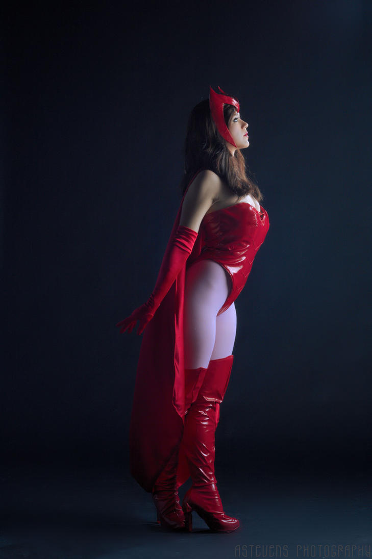 Scarlet Witch in Moonlight by HollyGloha