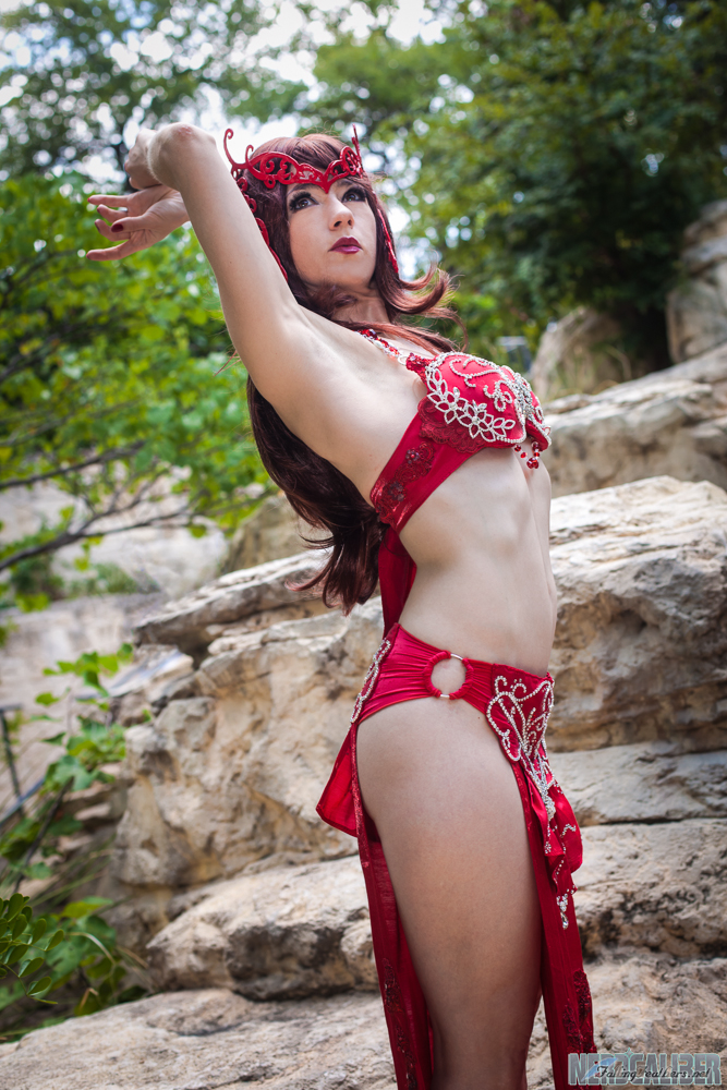 Belly Dancer Scarlet Witch by HollyGloha