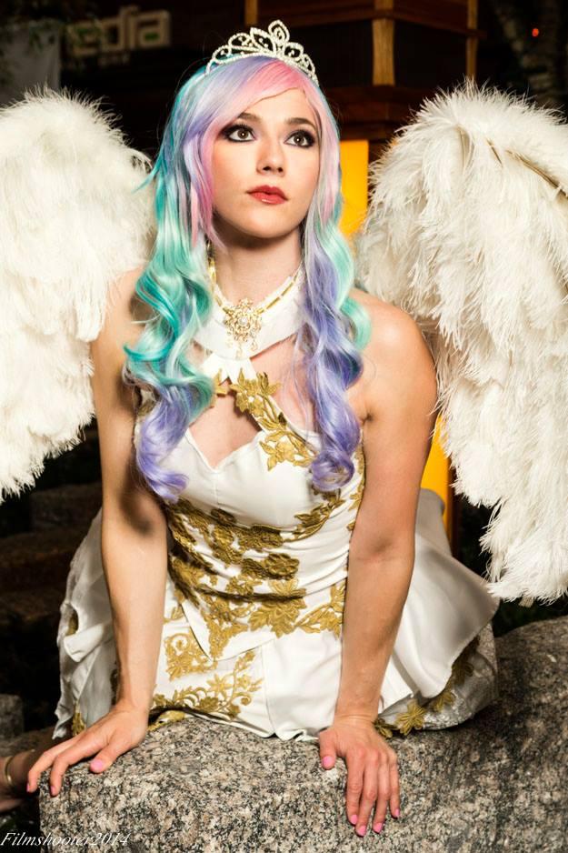 Princess Celestia Perch by HollyGloha