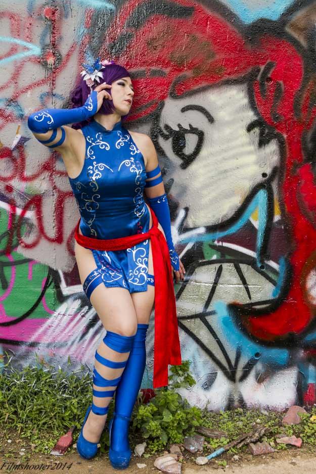 Psylocke Full Body Shot by HollyGloha