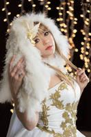 Christmas Holiday Angel by HollyGloha
