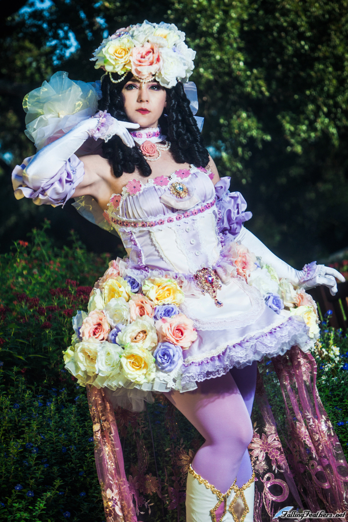 Princess White Rose Sakizou by HollyGloha