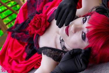 Madame Red Dark Repose by HollyGloha