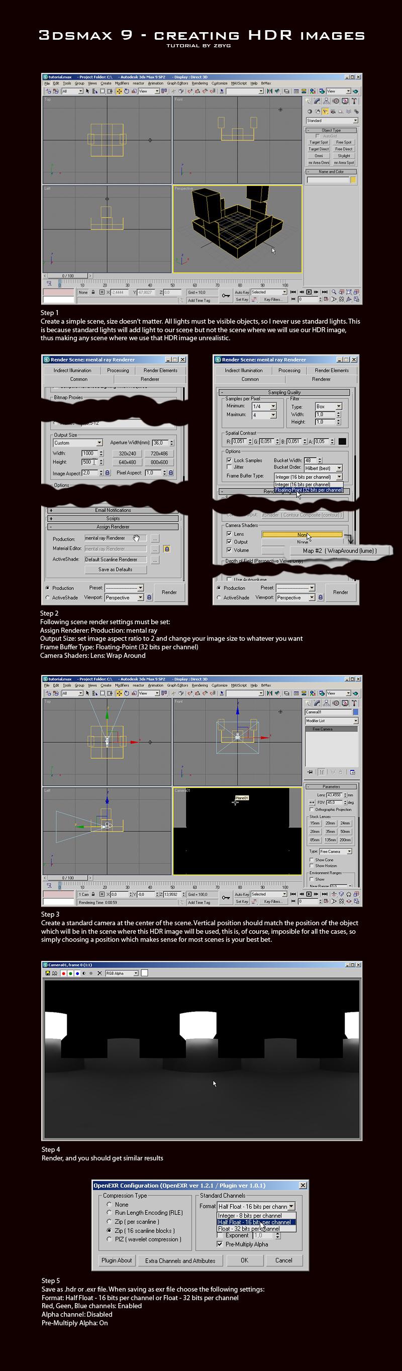 HDRi tutorial by zbyg