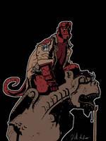Hellboy by artistwilliamshawn