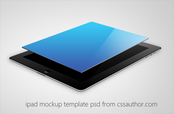 Beautiful iPad Mockup Template PSD for Free by cssauthor on DeviantArt