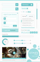 Download Free Ultimate UI Kit PSD from CSS Author by cssauthor