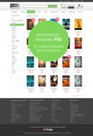 E-commerce Category Page Template PSD