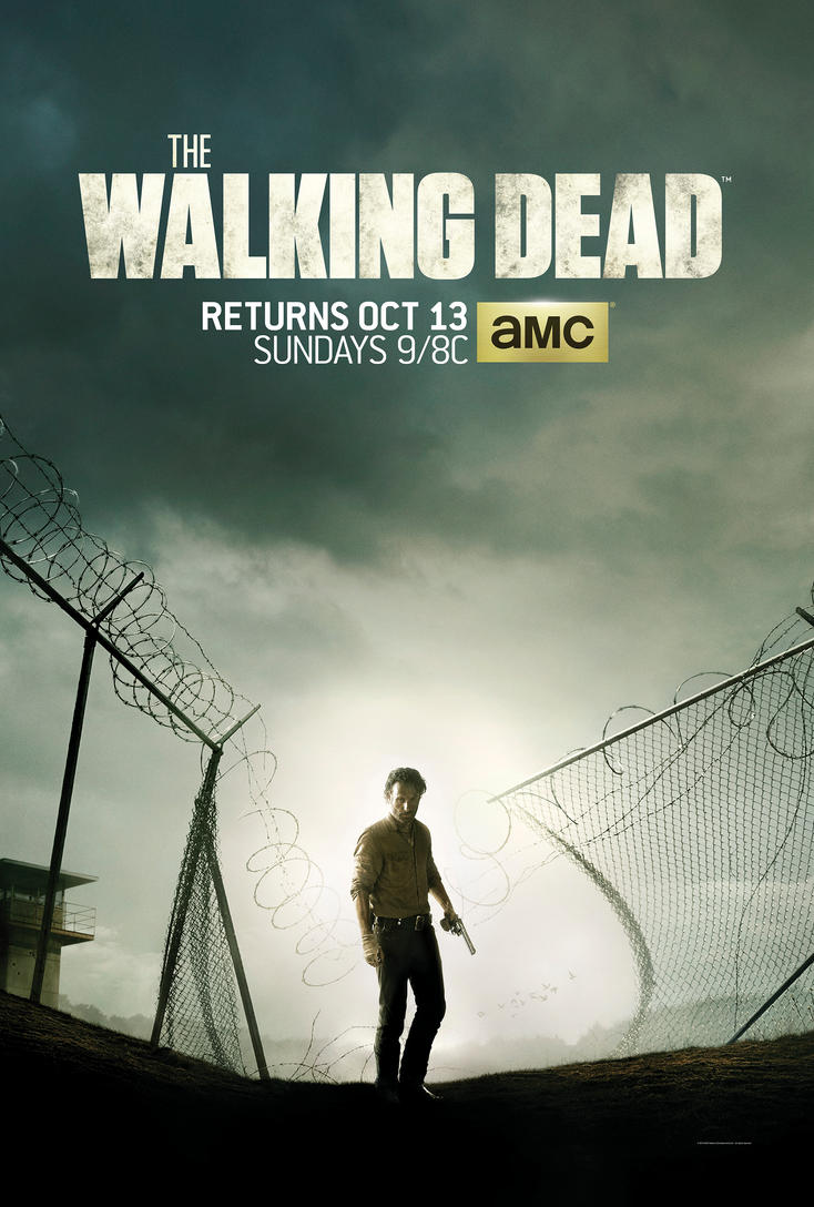 Poster Oficial | The Walking Dead 4 Temporada. by jeanluccas on ...