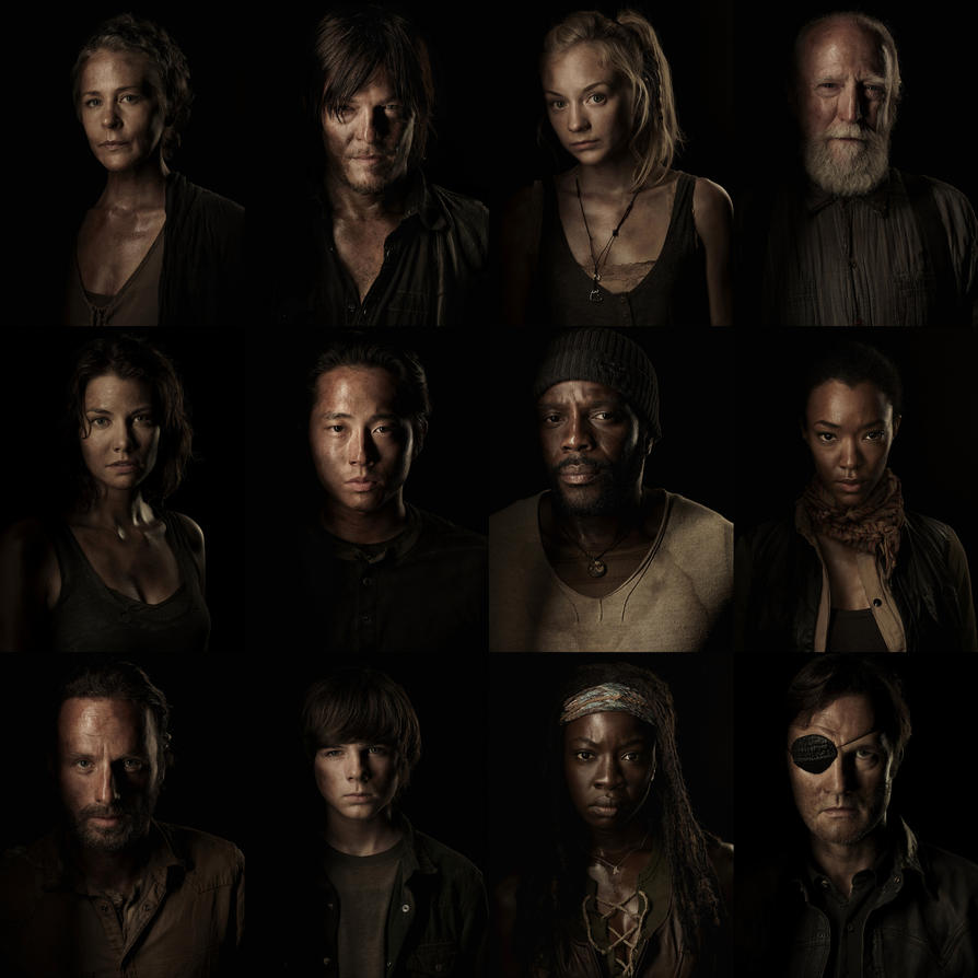 The Walking Dead 4 Temporada by jeanluccas on DeviantArt