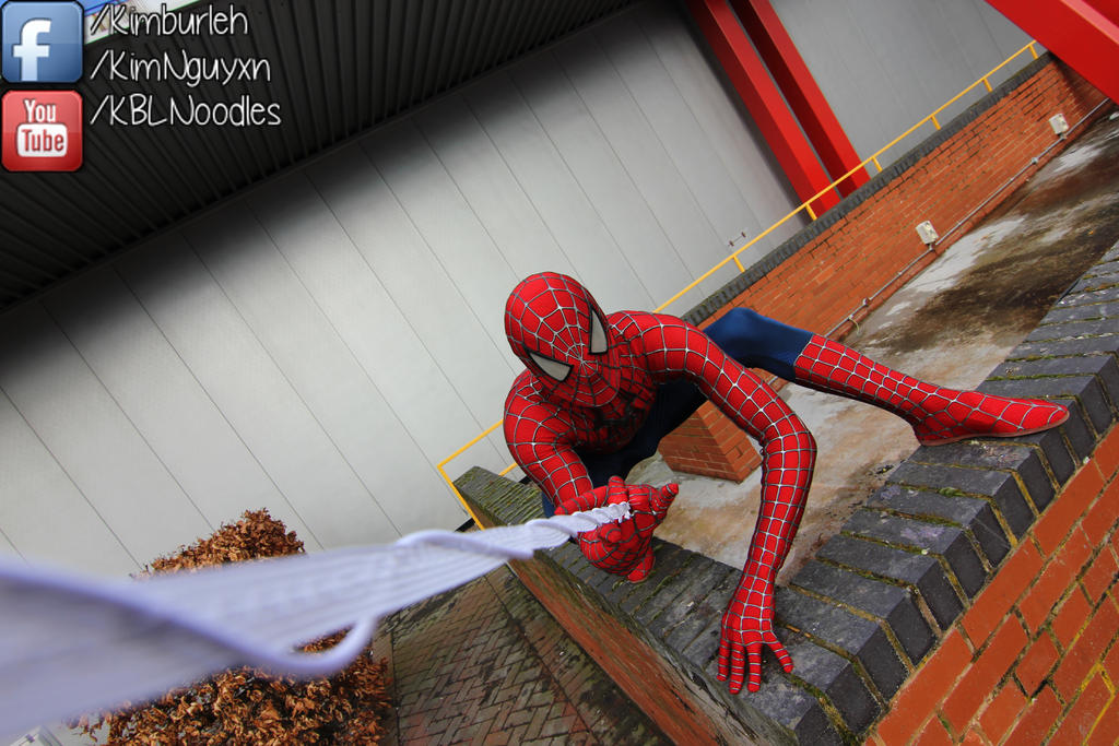 Birmingham Expo: Spiderman by KBLNoodles