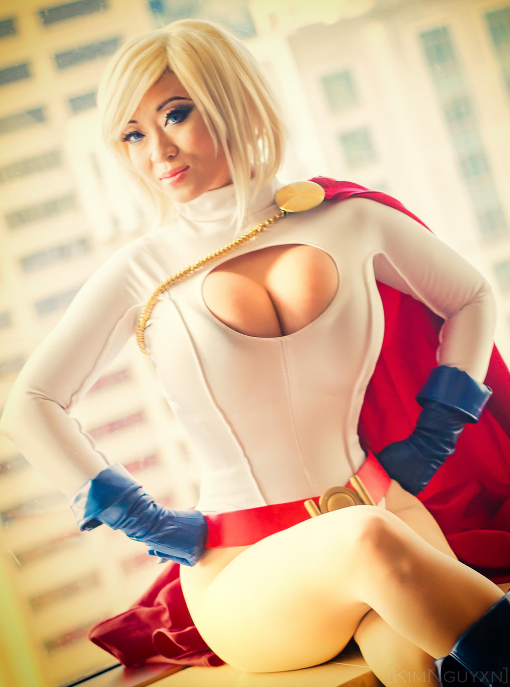Yaya Han as Powergirl by KimNguyxn
