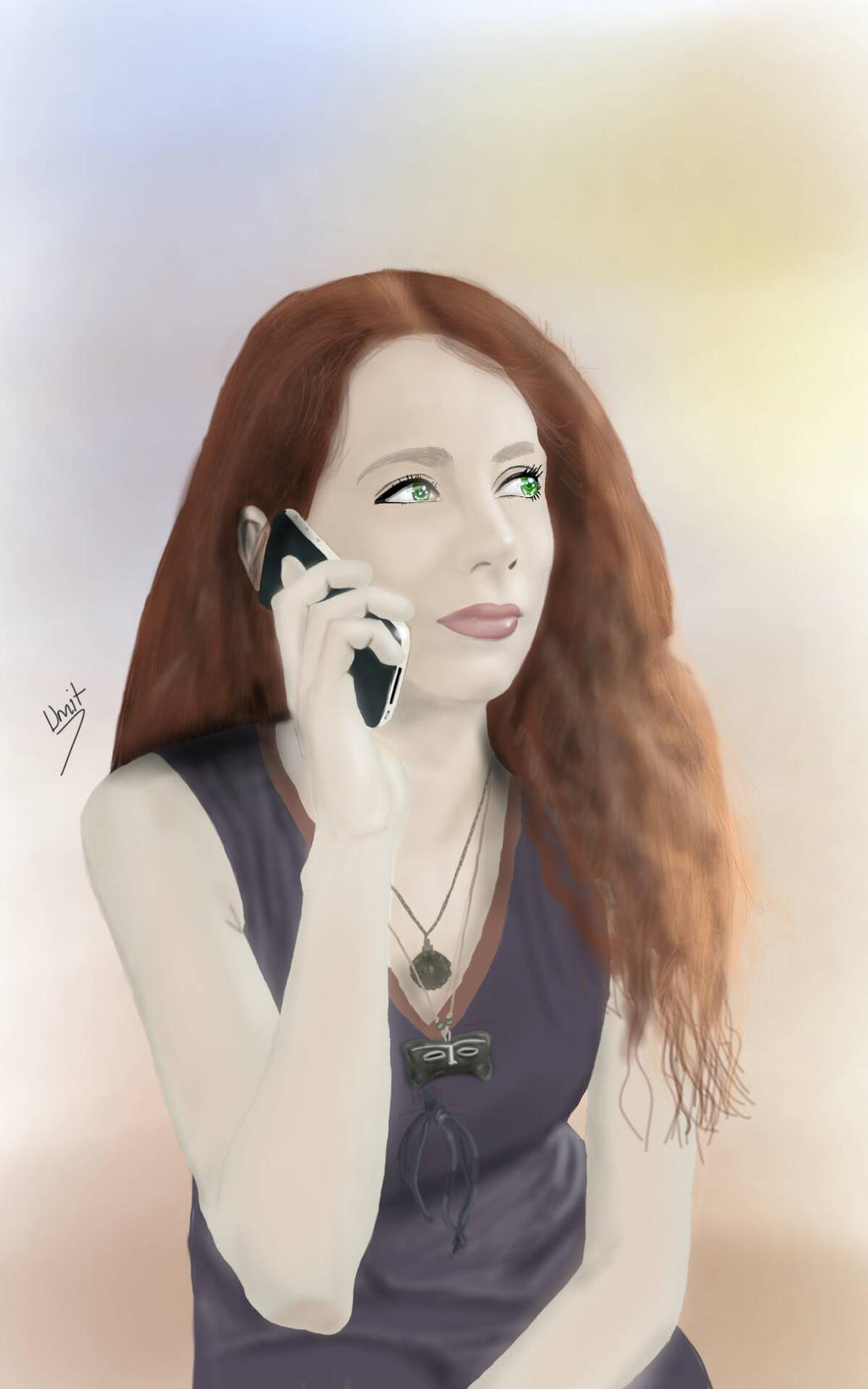 red hair by planamasra