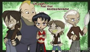 Feel that testosterone