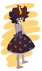 A pretty, pretty lady