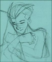 Pietro cuddling by idgiebay