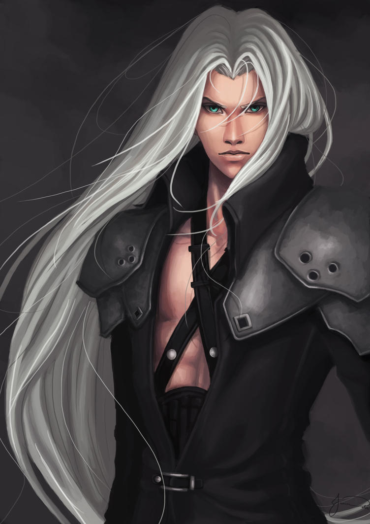 Sephiroth by sniftpiglet