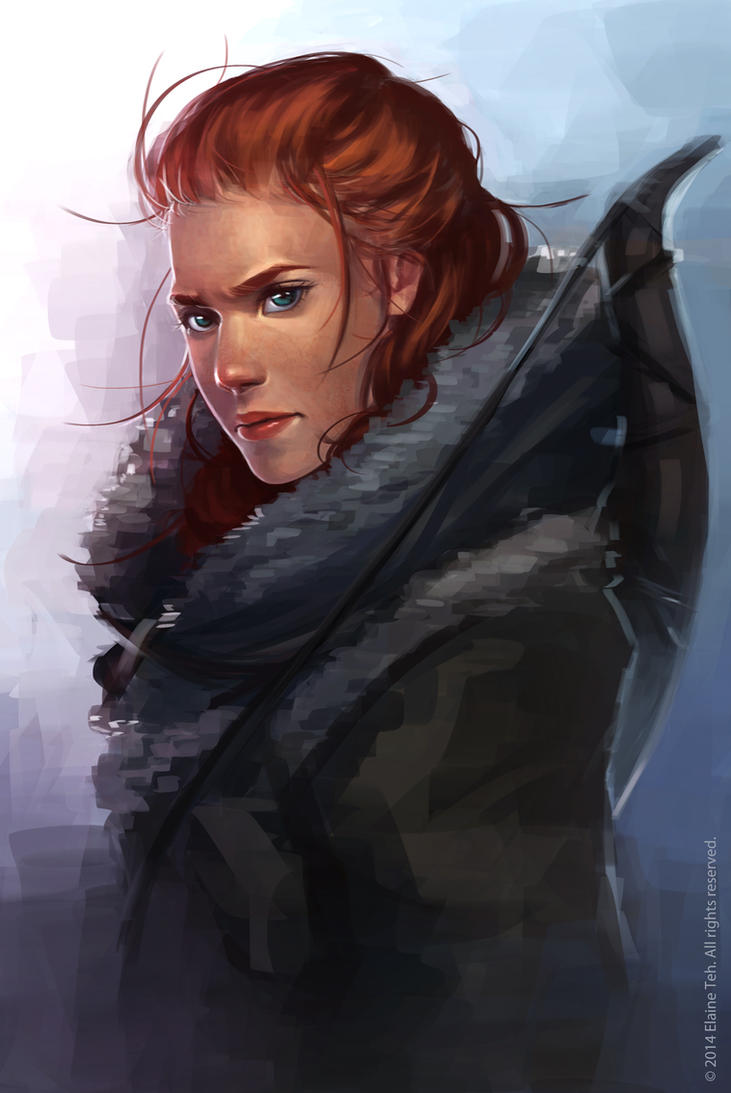 Ygritte by sniftpiglet