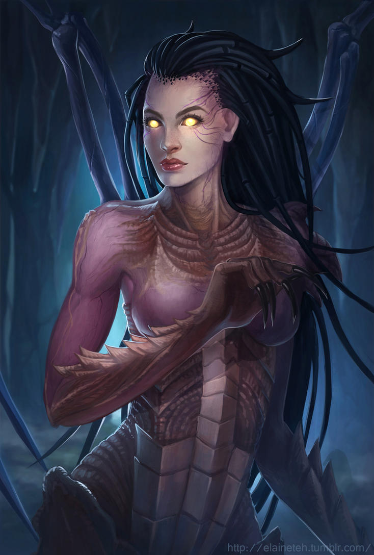 Kerrigan Starcraft by sniftpiglet