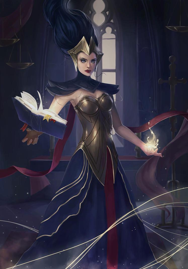 Outcast Odyssey- Warlock by sniftpiglet