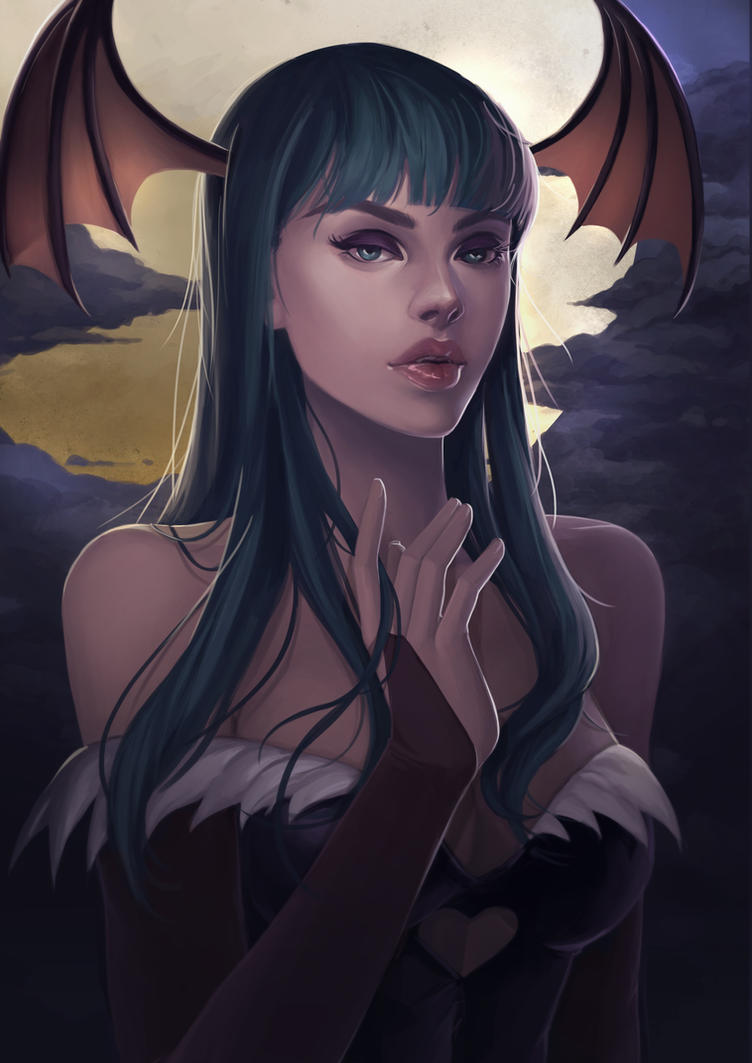Morrigan by sniftpiglet