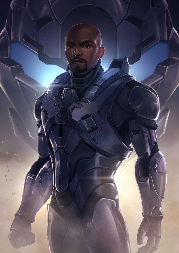 Halo5 Locke by sniftpiglet