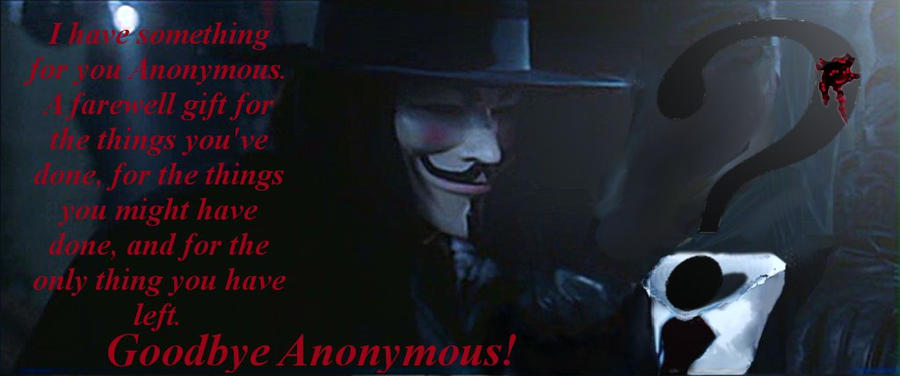 V For Vendetta Essay