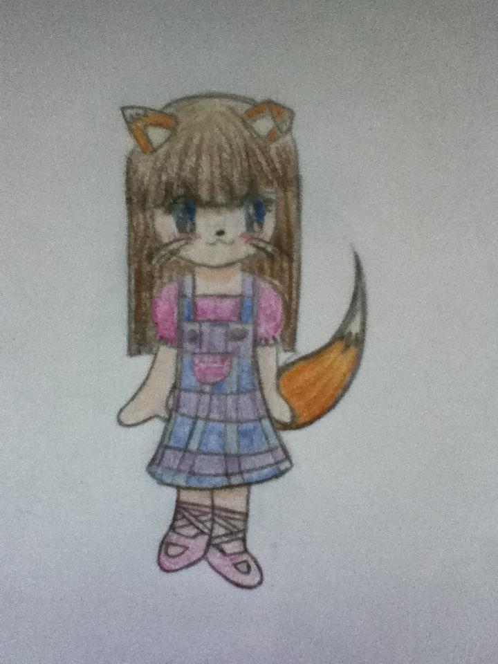 Fox girl by artfreak515