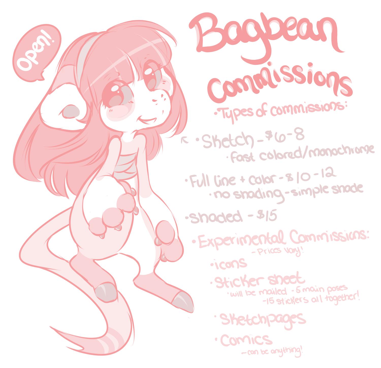 Bagbean Commissions - OPEN by Rain-ette