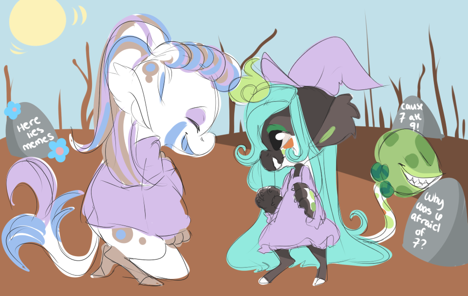 Am I a scrawy witch? by Rain-ette