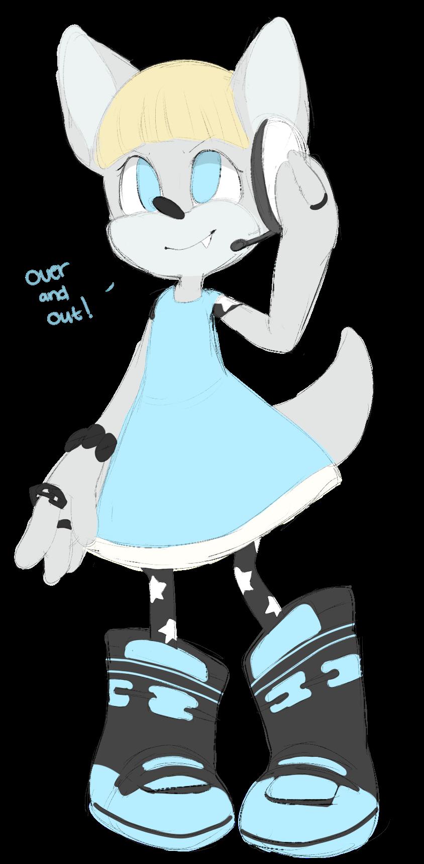 Sonic Forces OC by Rain-ette