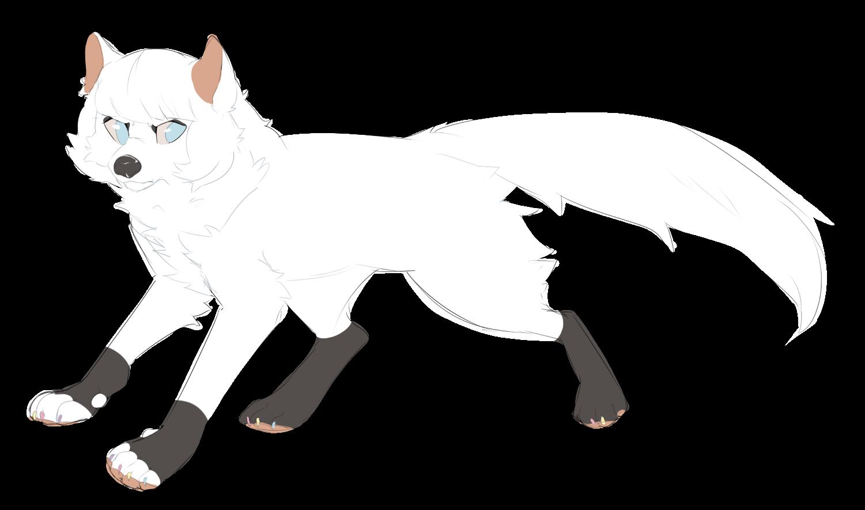 Heidi Wolf Form by Rain-ette
