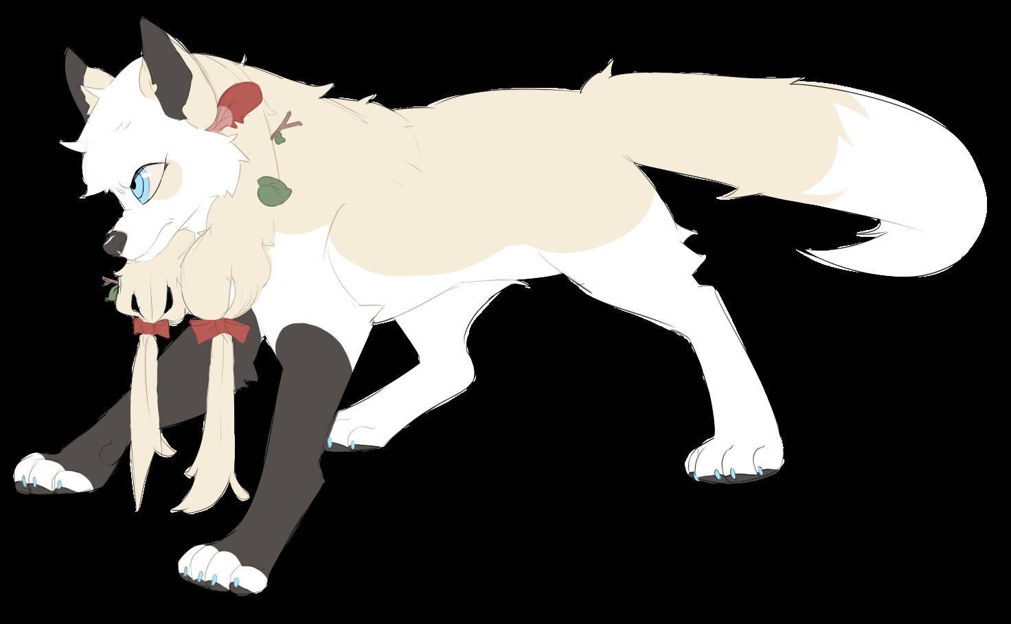 Juviette Wolf Form by Rain-ette