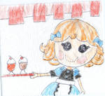 Lunch Napkin Notes - Pickles Lalaloopsy