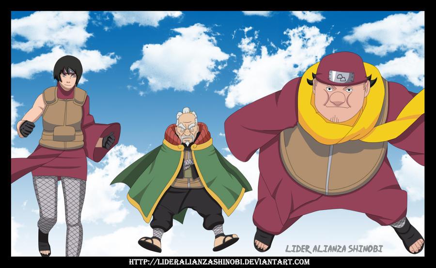 Naruto 513 Equipo Tsuchikage by LiderAlianzaShinobiYondaime Tsuchikage