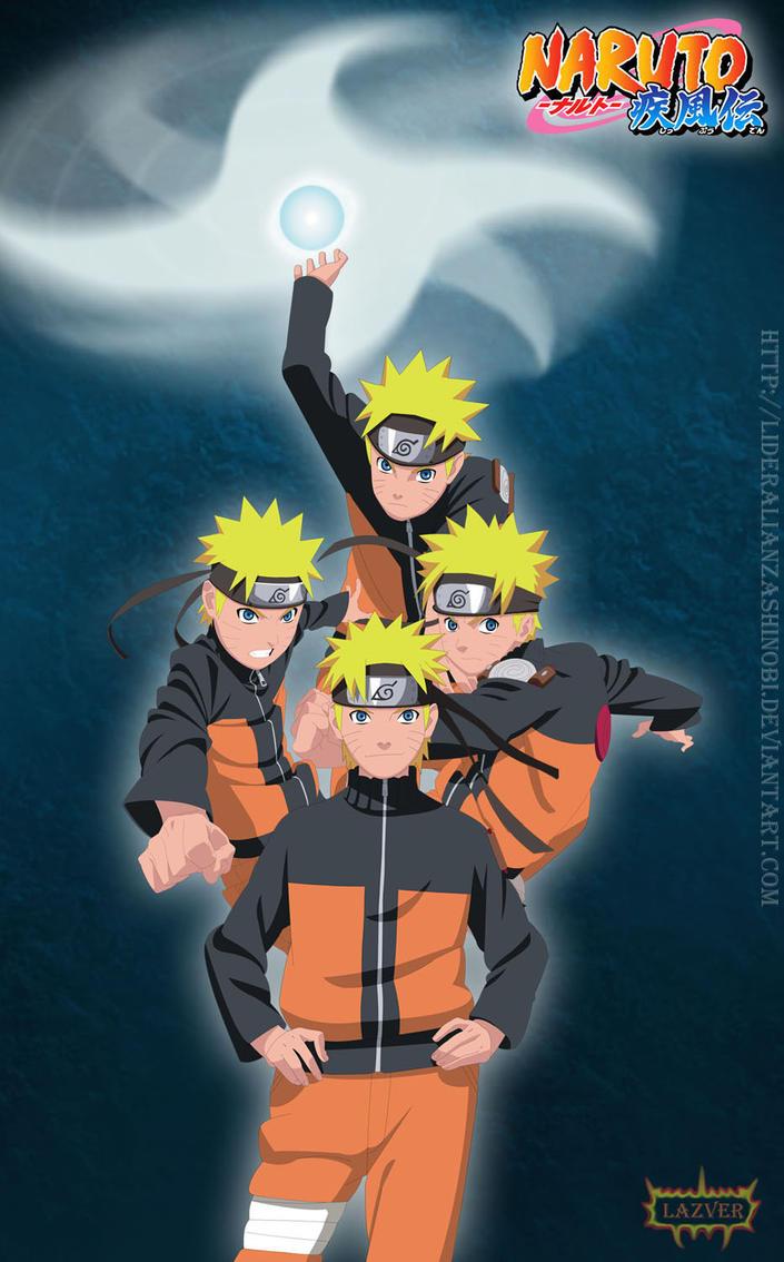 Narutos by LiderAlianzaShinobi