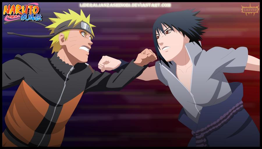 Naruto Uzumaki Vs Sasuke Uchiha Uzumaki vs Uchiha by L...