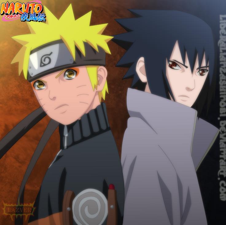 Naruto y Sasuke by LiderAlianzaShinobi