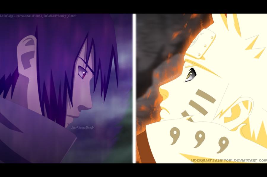 Batalla Final: Naruto v/s Sasuke by LiderAlianzaShinobi