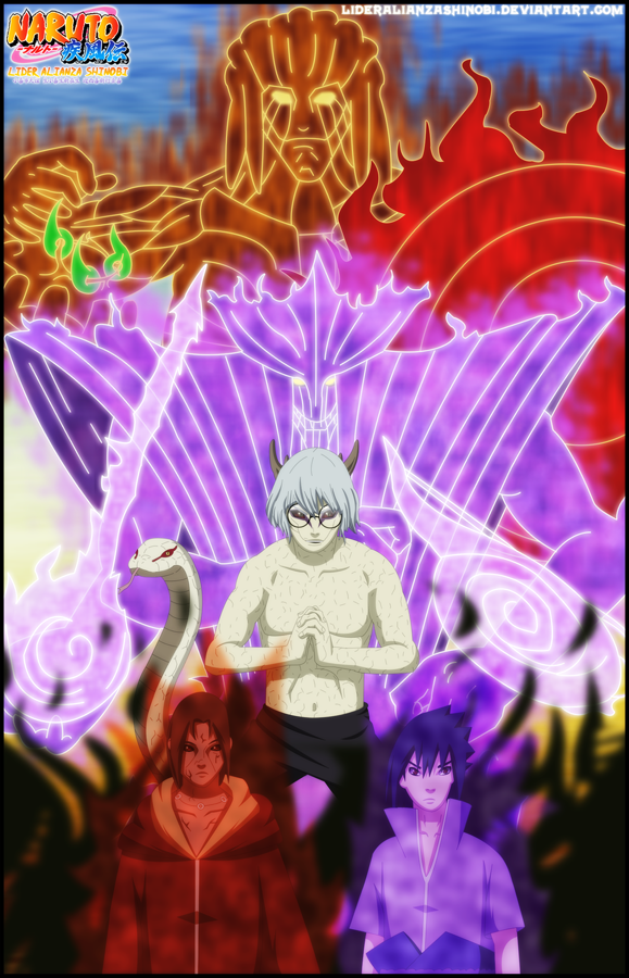 Sasuke And Itachi Vs Kabuto Portada: itachi y sasuke vs
