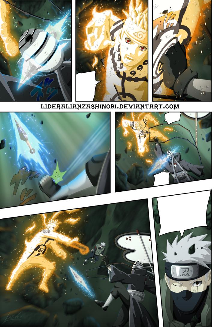 Manga Naruto 595: Pagina 18 AK by LiderAlianzaShinobi on DeviantArt