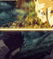 Naruto 607 - Naruto vs Madara by LiderAlianzaShinobi